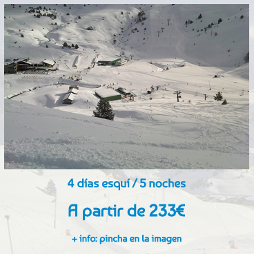 4 days of ski - 5 nights